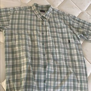 Men's Patagonia short sleeve button down